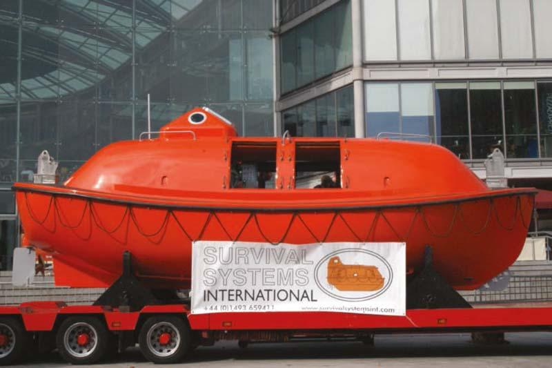 48 man lifeboat capsule