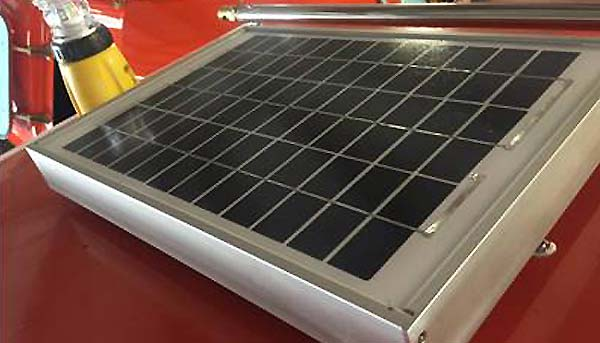 Solar Panel Trickle Charger
