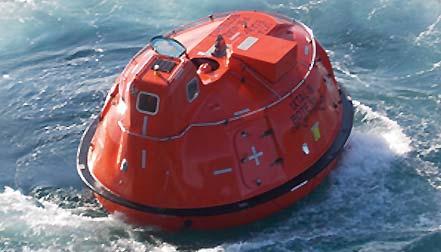 Superior Lifeboat Maneuverability