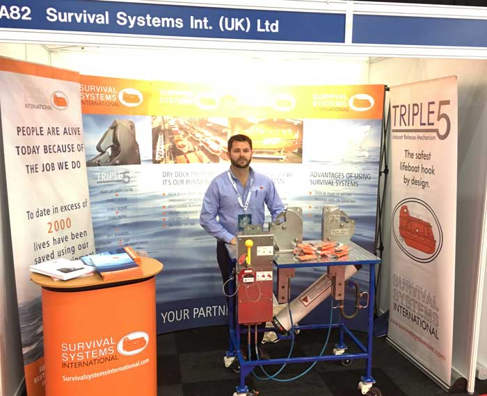 meeting survival systems international at an event