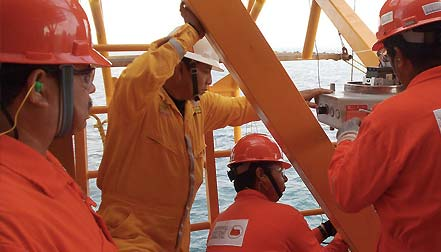 oil rig inspection