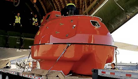 lifeboat capsule rental