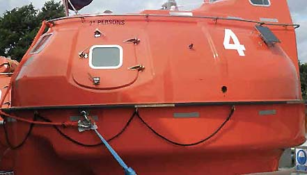 lifeboat maintenance