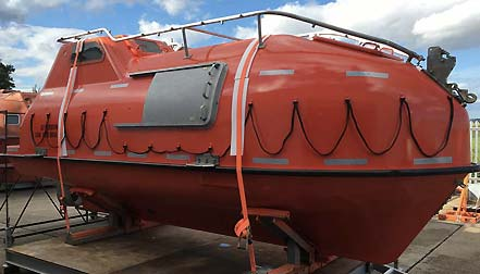 cruise lifeboat refurbishments