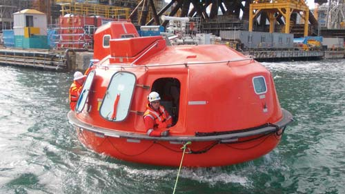 survival systems lifeboat capsule agility
