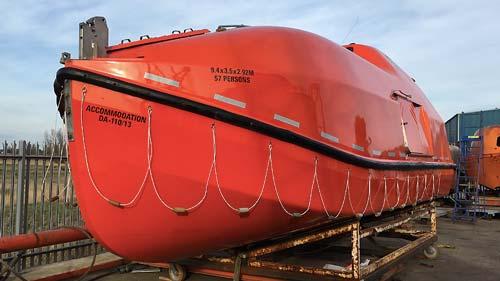 lifeboat onshore repairs
