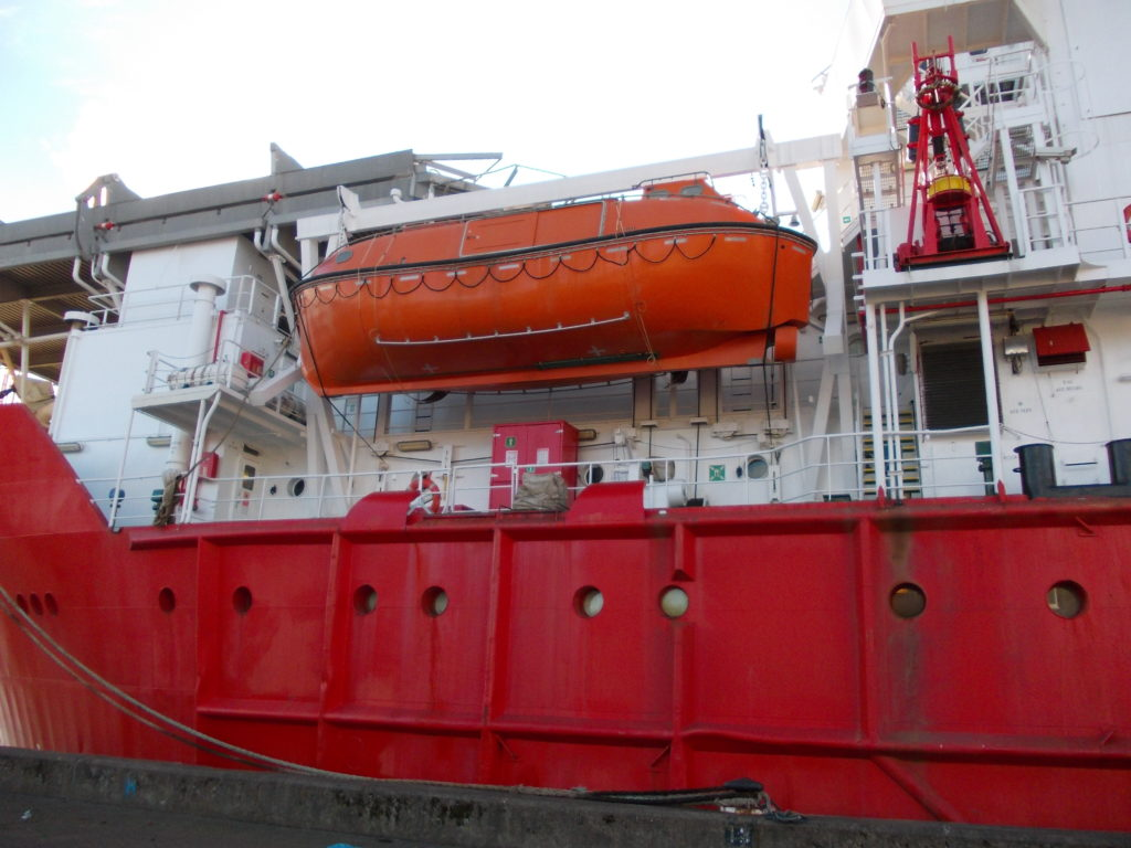 cruise lifeboat inspections