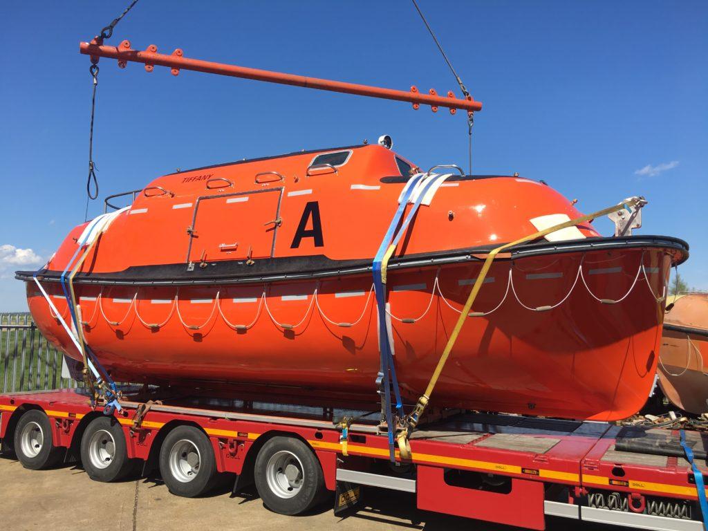 54 Man lifeboat Capsule