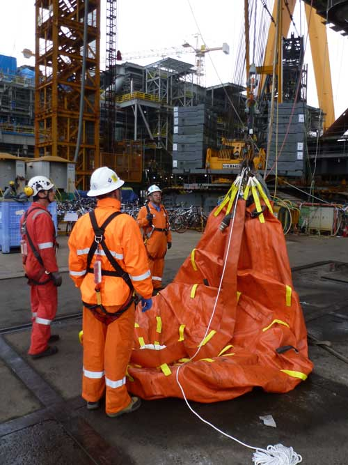 lifeboat load testing