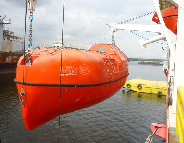 SSI Twinfall Lifeboats